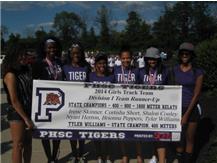 Tiger Girls 2014 Runner-up Division I Track Championship