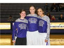 2015-16 Seniors (l to r) Sam Grimm, Kennedi Jones, Lydia Hedgepeth