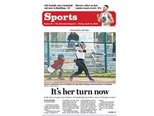 COLUMBUS DISPATCH COVER STORY ON KALLIE 4/15/16