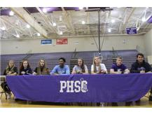 TIGERS INK 2016 NATIONAL LETTERS OF INTENT (l to r): 