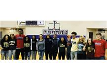 14 TIGERS SIGN NATIONAL LETTERS OF INTENT 11/8/17