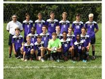 2018 Junior Varsity Boys Soccer