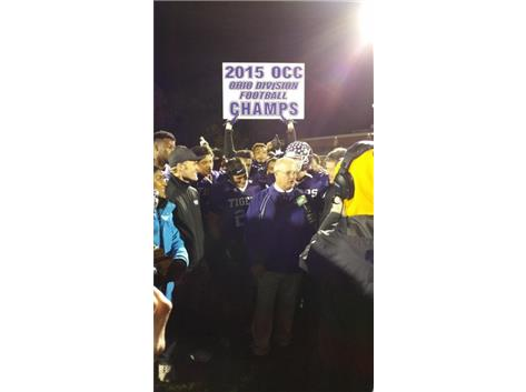 TIGERS CLAIM 2015 OCC OHIO TITLE-10TH IN A ROW