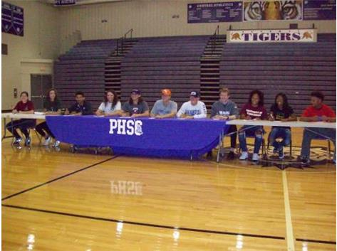 TIGERS INK NATIONAL LETTERS OF INTENT-SPRING 2016