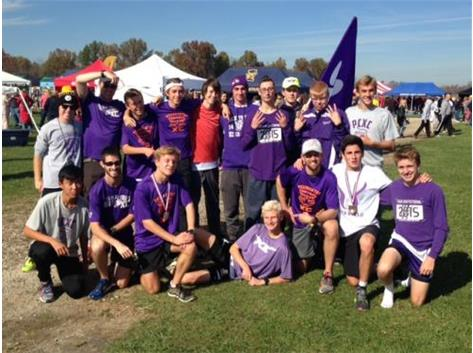 TIGERS FINISH 8TH IN STATE MEET - MATT SCRAPE IS RUNNER-UP