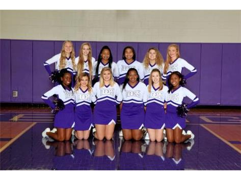 2016-17 TIGER WINTER VARSITY CHEER