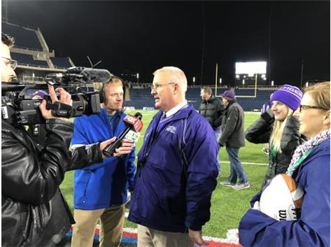 2017 TIGER FOOTBALL HEAD COACH JAY SHARRETT; TIGERS CAPTURE FIRST STATE TITLE IN SCHOOL HISTORY