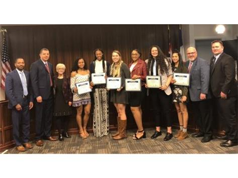 FRANKLIN COUNTRY COMMISSIONERS HONOR 2018 STATE CHAMPION TIGER GIRLS BASKETBALL TEAM