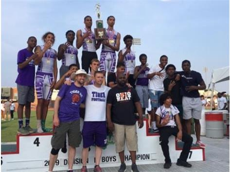 Back to Back State Champions Tiger Track 2019