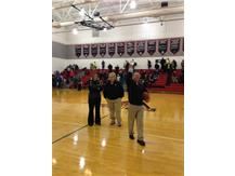 2-27-14, North's 50-47 win over Westerville North gives Coach Dave Butcher his 700th win!!