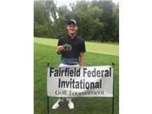 2015 Fairfield Federal Co-Medalist -  Cameron Bruce