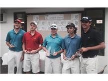 2015 Lancaster Invitational Runner Ups - Cameron Bruce, Michael Diehl, Frank Jones, Sam Defibaugh, Nick Montes