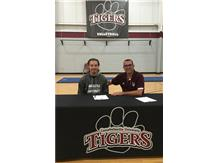 CONGRATULATIONS to Bryce Johnson, signing to play Men's volleyball at  Campbellsville University!!