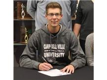 CONGRATULATIONS to Tyler Vermillion, signing to play Men's Volleyball at Campbellsville University!!