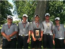 1st Place Mt. Vernon Invitational 2013 Andrew Ruehle Kevin Hannah Alex Weiss Scot Sapp Nick Montes