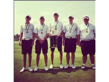 1st Place Coffman Invitational 2013 - Nick Montes, Alex Weiss, Scot Sapp, Kevin Hannah,  Andrew Ruehle