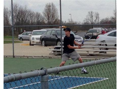 Blaine going for the winner