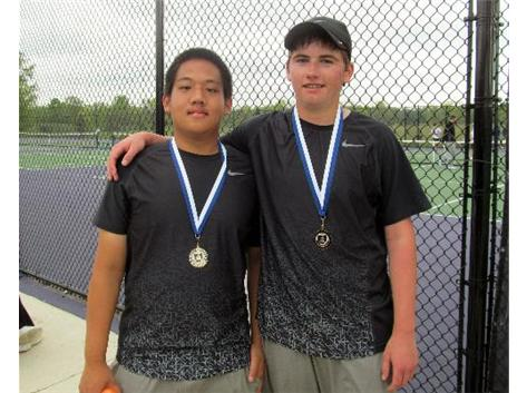 Pat & Matt - 1st Doubles OCC Champs
