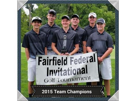 2015 Fairfield Federal Champions - Josh Tasney Michael Diehl Frank Jones Tyler Vermilion Cameron Bruce Nick Montes