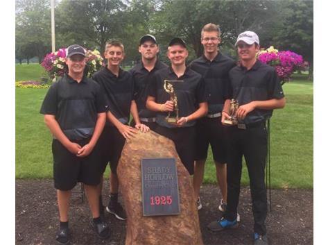 2105 Jackson Polar Bear Invitational Champions- Frank Jones, Josh Tasney, Cameron Bruce, Michael Diehl, Tyler Vermiion, Nick Montes