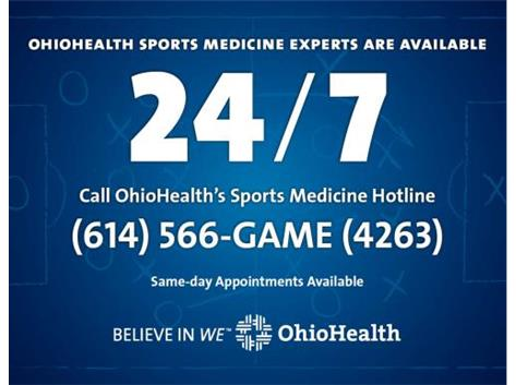 OhioHealth is the official healthcare provider for Pickerington High School North athletics.