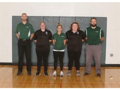 Athletic ATI Trainers and Students
