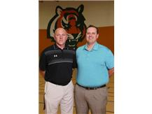 Paul Raspolich-Athletic Director Tony Waznonis-Asst. Athletic Director