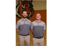 Golf Coaches Braden Kass, Joe Young