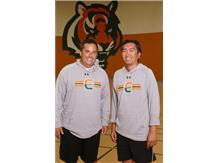 Girls Tennis Coaches Matt Tadla, Dominic Del Rosario