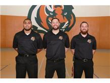 Athletic Trainers Awais Arain, Chuck Smith, James Schaefer