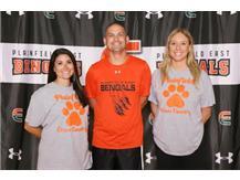 Boys & Girls Cross Country Coaches Danielle Borre, Matt Johnson, Marika Floros