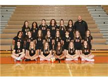 Girls Freshman Volleyball Team