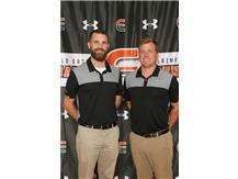 Boys Golf Coaches Braden Kass, Joe Young