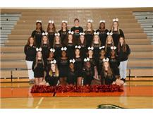 Fall JV Cheerleading