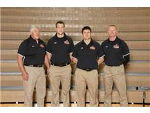 Wrestling Coaches Mike Early, Luke Collins, Dave Early, Dan Graff