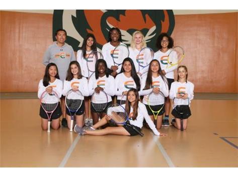 Girls JV Tennis