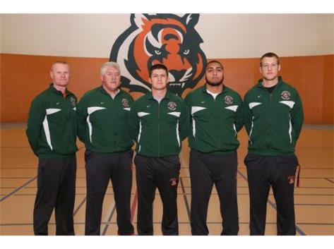 Wrestling Coaches Dan Graff, Mike Early, David Early, Awais Arain, Luke Collins