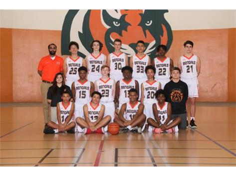 Sophomore Boys Basketball Team