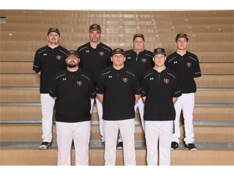 Baseball Coaches Ken Holowczak, Adam O'Reel, Tyler Sutton Kevin Ryan, Jeff Heimer, Bobby Stevens, Billy Murphy