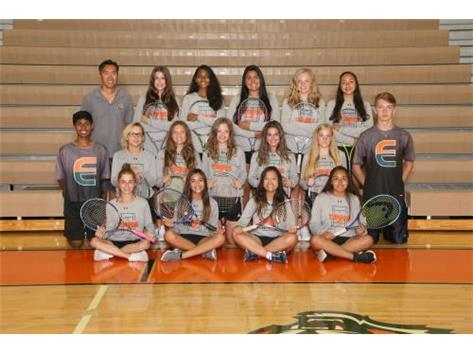 Girls JV Tennis Team