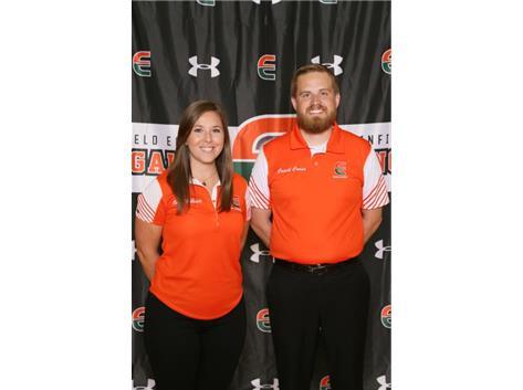 Girls Golf Coaches Erin McGinnis, Nicholas Cress
