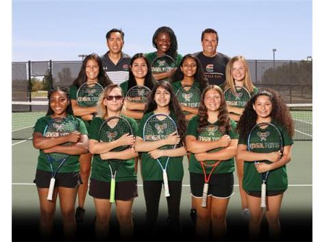 Girls JV Tennis Team