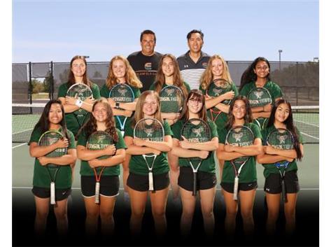 Girls Varsity Tennis Team