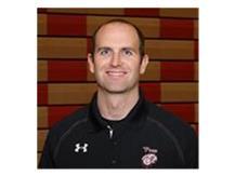 Assistant Varsity Boys Basketball Coach Jim O'Hara.
