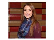 Head Pom Coach Kristen Baron.