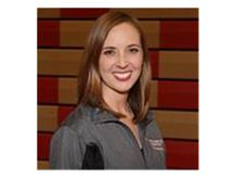 Assistant Pom Coach Amber Bell.
