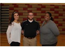 2015 Coaches- Coach Burton; Coach Dellamorte and Head Coach Tracey Marshall