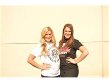 Cheer Coaches Stephanie Winchester and Stephanie Gloede