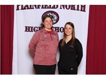 2016 Badminton Coaches Erin Smith and Amanda Viece