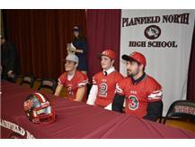 Kevin Block, Johnny Goodson, JJ Frey- St. Xavier Football